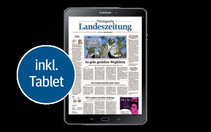 TLZ Digital inkl. Samsung-Tablet