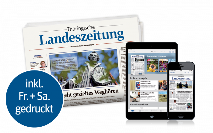 TLZ Digital Smartphone Tablet PC Zeitung